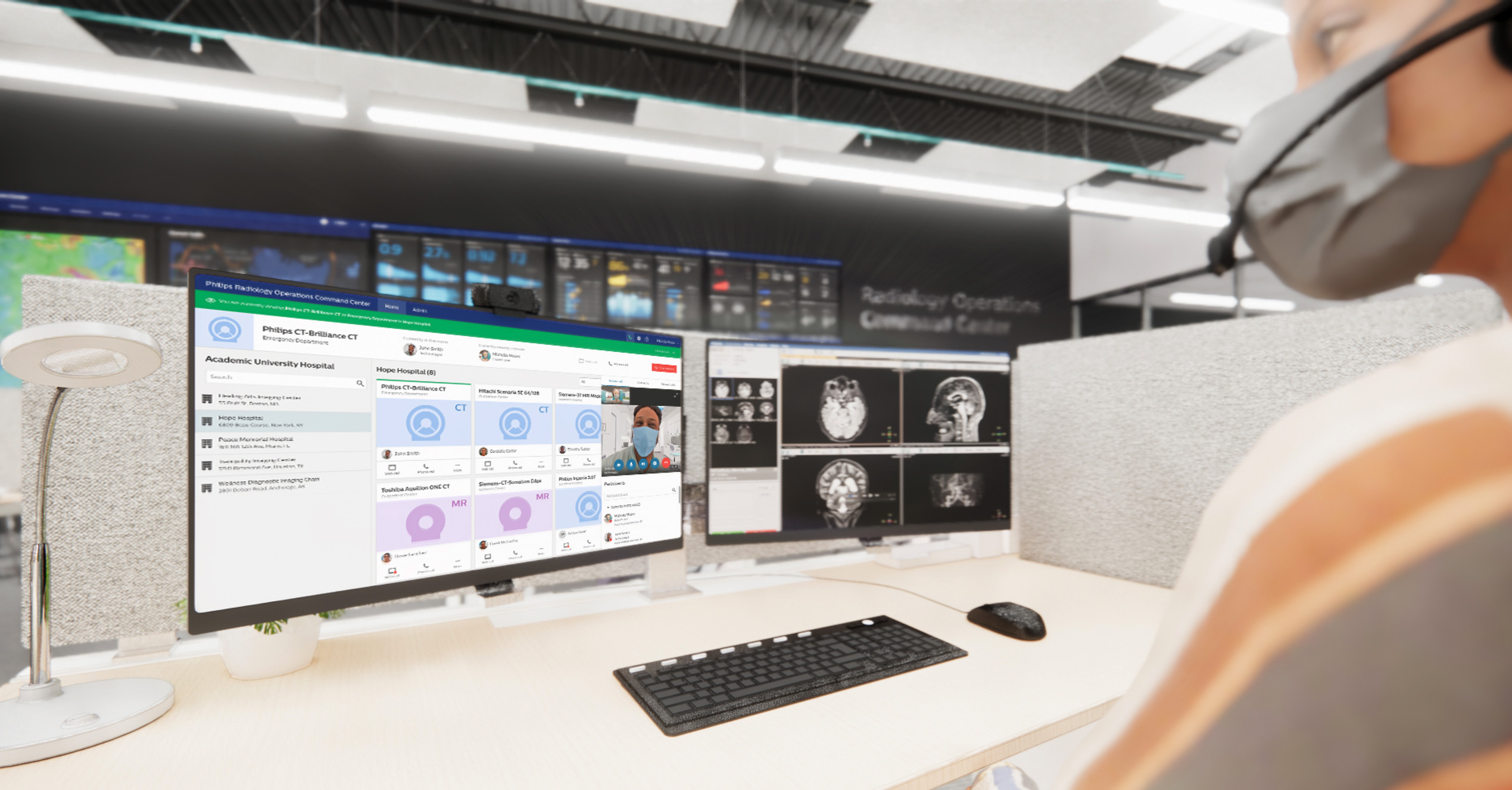 Philips Radiology Operations Command Center