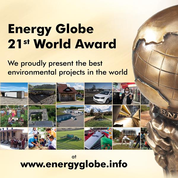 21st Energy Globe World Award