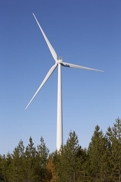 Illustration photo - Ögonfägnaden wind farm