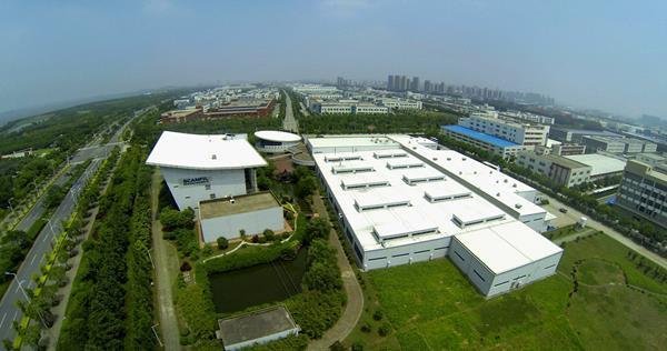 Scanfil Suzhou aerial image
