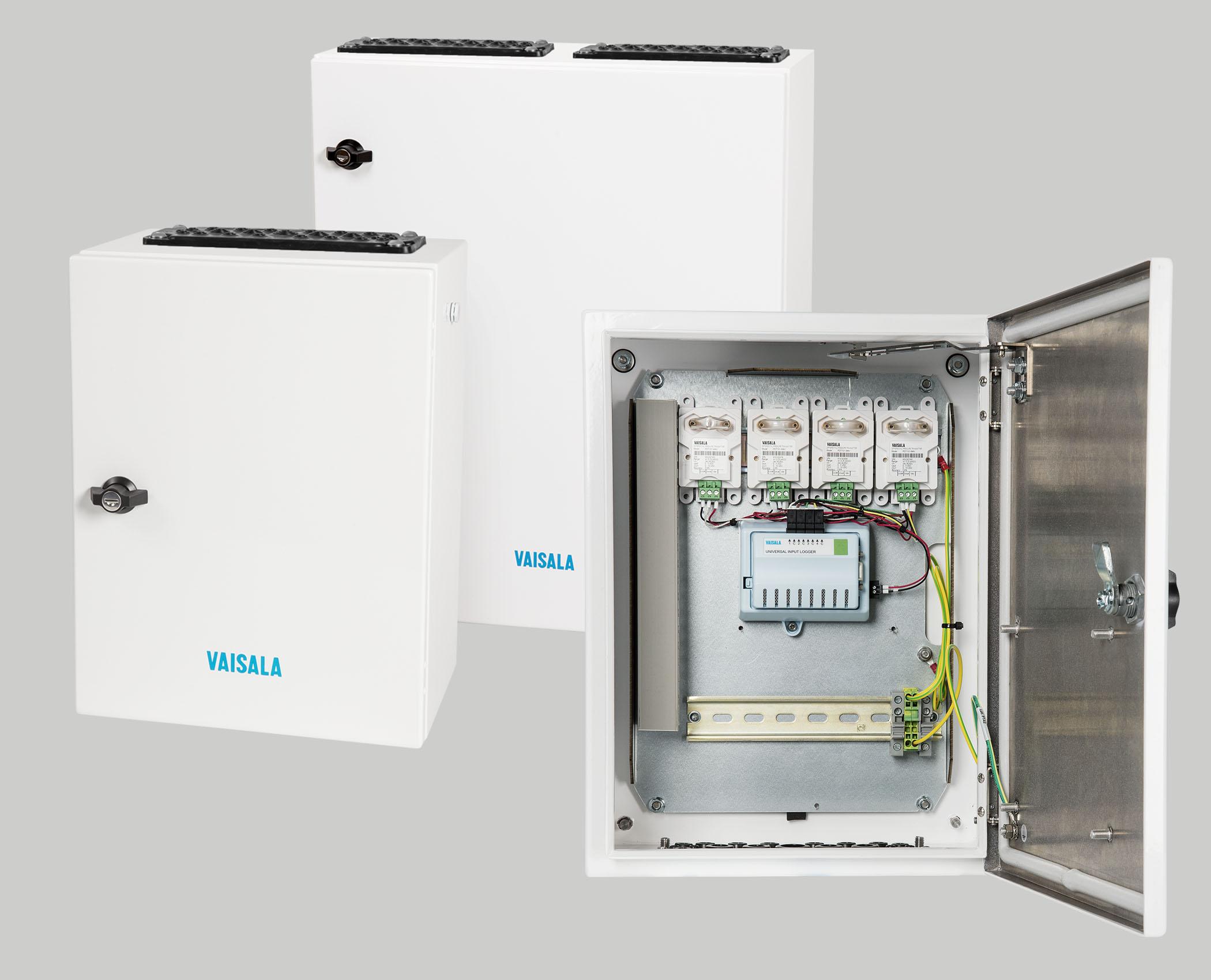 Vaisala präsentiert Industrieschrank CAB100 für Reinräume