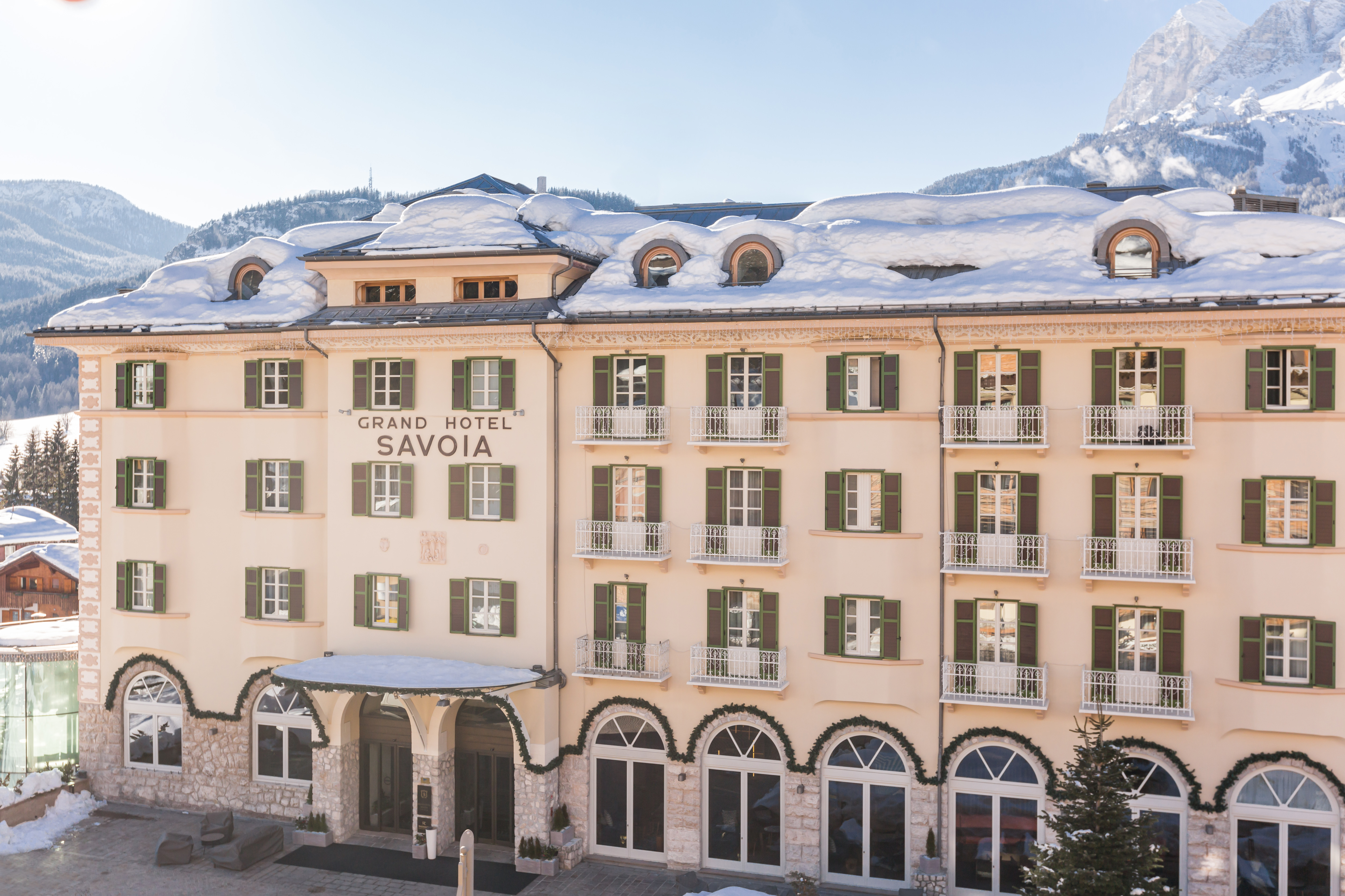 Exterior View The Grand Hotel Savoia, A Radisson Collection Hotel