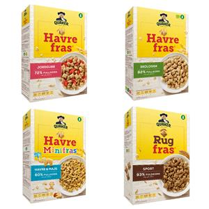 Orkla has signed and completed an agreement with PepsiCo, Inc. to purchase the Havrefras brand, including Rug Fras and Mini Fras