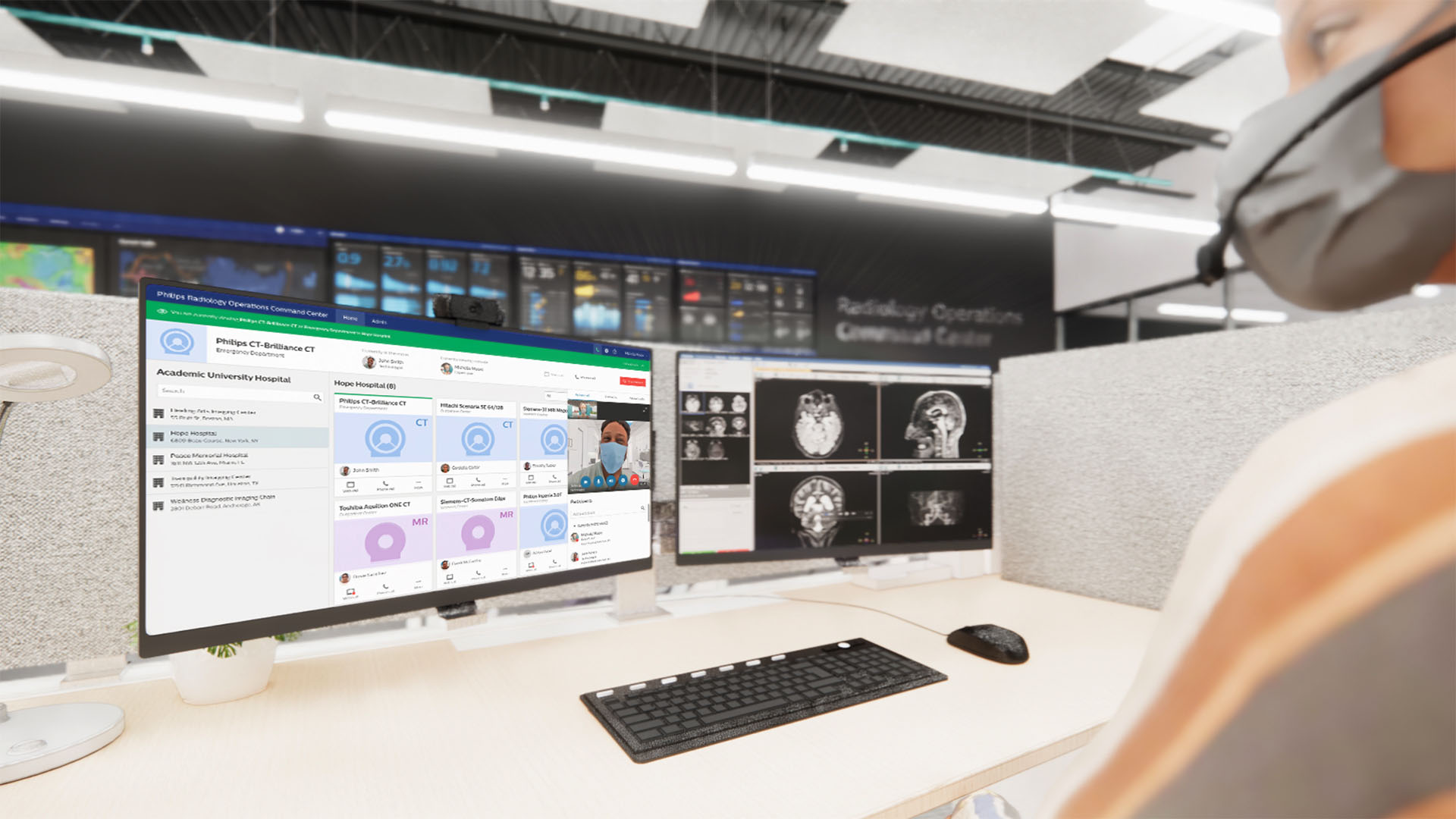 Philips�� Radiology Operations Command Center