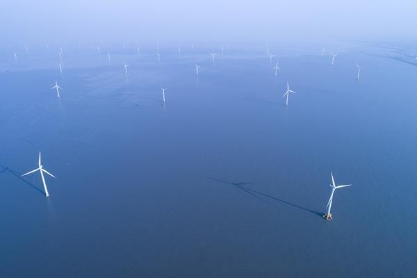 Offshore wind illustration