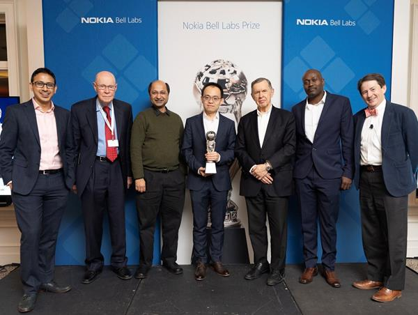 The 2019 Nokia Bell Labs Prize winners and the judging panel