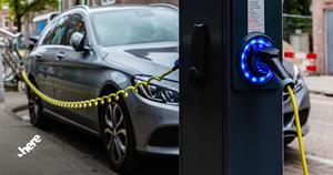 EV Routing delivers the most optimal route including charging time