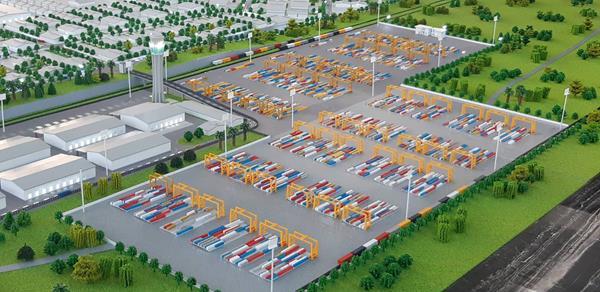 Vientiane Logistics Park's new Dry Port in Laos