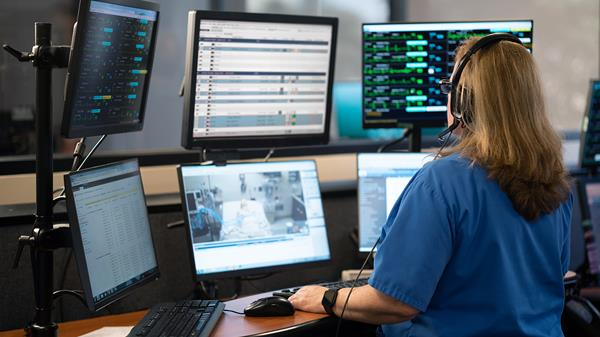 Philips eICU telehealth solutions for the ICU
