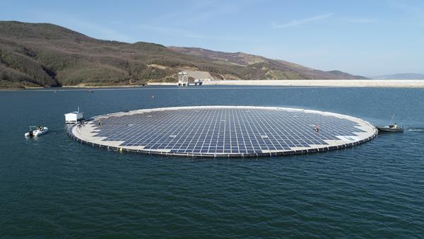 Banja Dam and Reservoir - Banja Floating Solar Plant