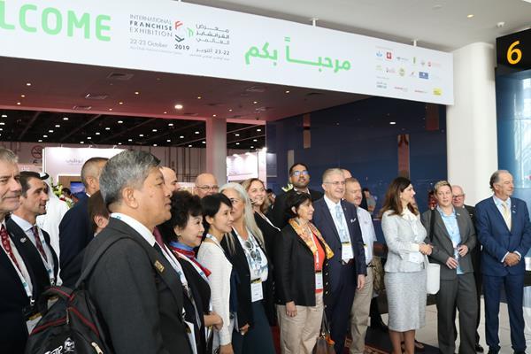 Franchising community at International Franchise Exhibition 2019